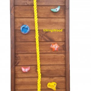 Детский игровой комплекс VikingWood Турин с кольцом