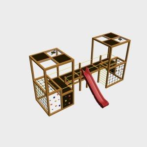 Детский игровой комплекс VikingWood Куб 3