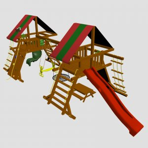 Детский игровой комплекс VikingWood Рио