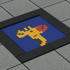 Батут встаиваемый для детских площадок VikingWood