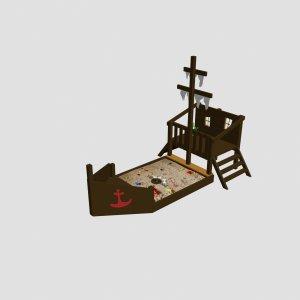 Детская игровая площадка VikingWood Немо
