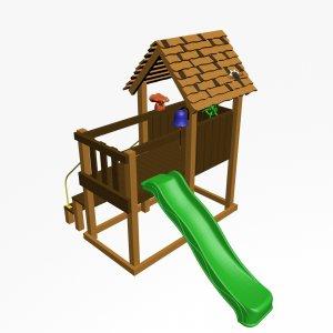 Детский игровой комплекс VikingWood Соло