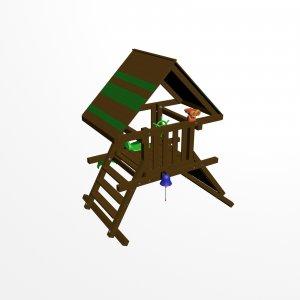 Детский игровой комплекс VikingWood Норд