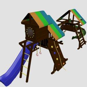 Детский игровой комплекс VikingWood Альт