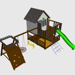 Детская игровой комплекс VikingWood Лоут 3
