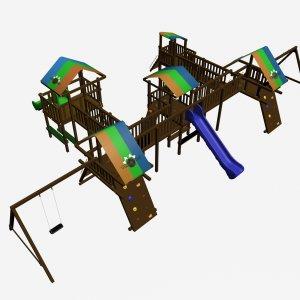 Детский игровой комплекс VikingWood Ксил