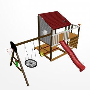 Детский игровой комплекс VikingWood Лоут 5