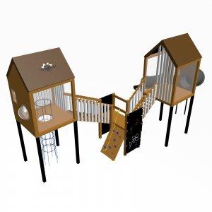 Детский игровой комплекс VikingWood Гуапо 1