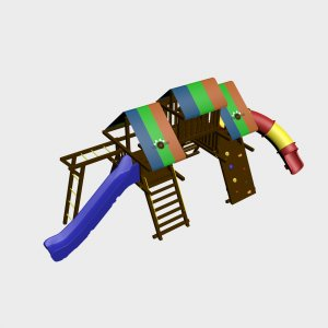 Детский игровой комплекс VikingWood Гамма