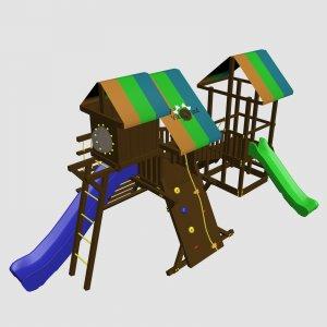 Детский игровой комплекс VikingWood Техас