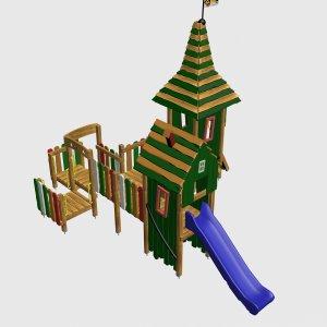 Детский игровой комплекс VikingWood Сьюзи