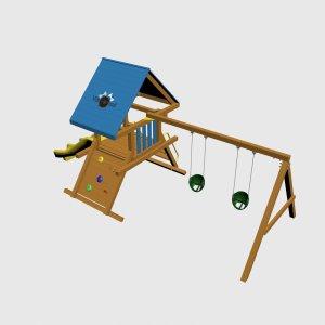 Детский игровой комплекс VikingWood Актос 2