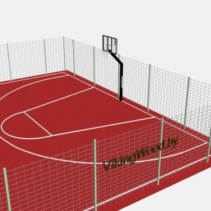 Стритбольная площадка VikingWood