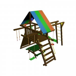 Детский игровой комплекс VikingWood Самсон