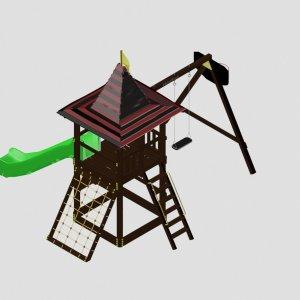 Детский игровой комплекс VikingWood Фунтис
