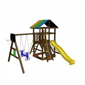 Детский игровой комплекс VikingWood  VikingWood  Родео с качелями Дуэт
