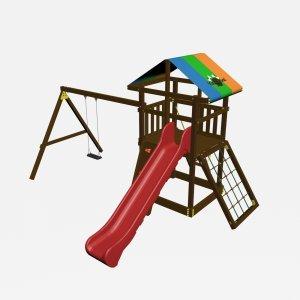 Детский игровой комплекс VikingWood Родео Премиум