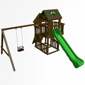 Детский игровой комплекс VikingWood Макомба Премиум