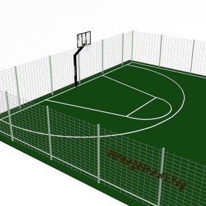 Баскетбольное поле VikingWood