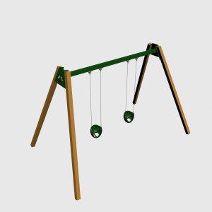 Детский игровой комплекс VikingWood ДК-012