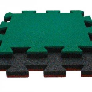 Резиновая плитка 500х500х30 мм тип 2