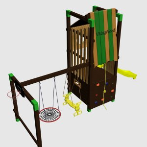 Детский игровой комплекс VikingWood Милат
