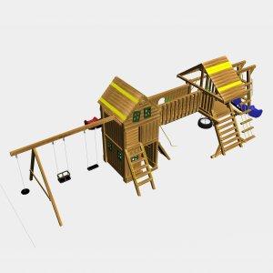 Детский игровой комплекс VikingWood Римини