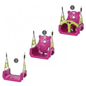 Детская игровая площадка VikingWood  Трикс с качелями Трио