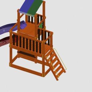 Детская игровая площадка VikingWood Соло