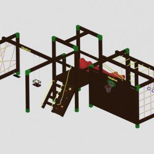 Детский игровой комплекс VikingWood Юго