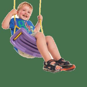 Детская горка  VikingWood Амиго с кольцом