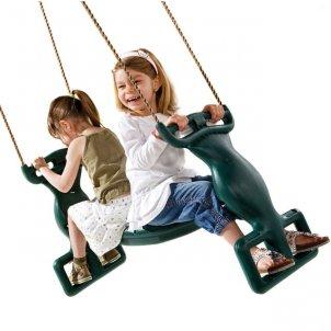 Детский игровой комплекс  Анкона с качелями Дуэт