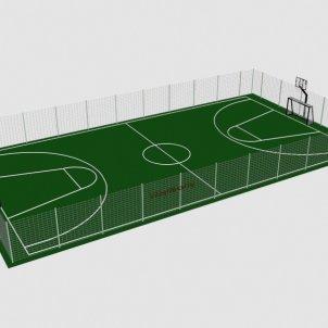 Футбольно баскетбольное поле VikingWood