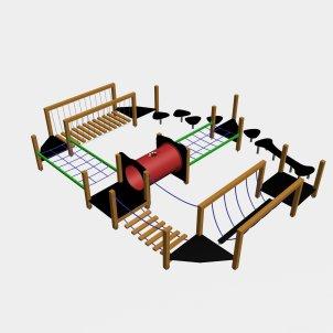 Детский игровой комплекс VikingWood ПП-005