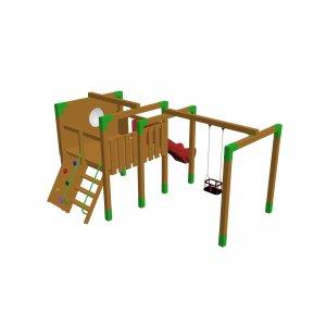 Детский игровой комплекс VikingWood Юго 2