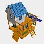 Детский игровой комплекс VikingWood Лоут 2