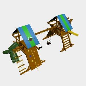 Детский игровой комплекс VikingWood Рица