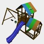 Детский игровой комплекс VikingWood Брик
