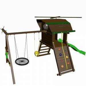 Детский игровой комплекс VikingWood Вихрь