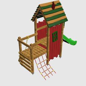 Детский игровой комплекс VikingWood Фунтик