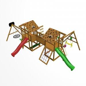 Детский игровой комплекс VikingWood Дуэт