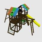 Детский игровой комплекс VikingWood Торнадо