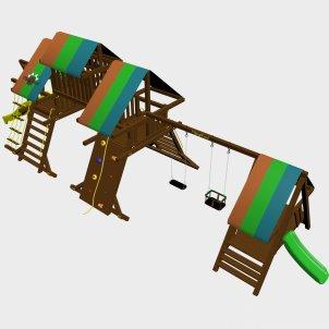 Детский игровой комплекс VikingWood Лаваса