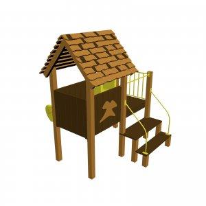 Детский игровой комплекс VikingWood Соло Премиум