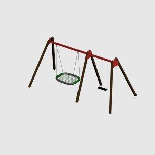 Детский игровой комплекс VikingWood ДК-007