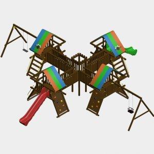 Детский игровой комплекс VikingWood Марсель