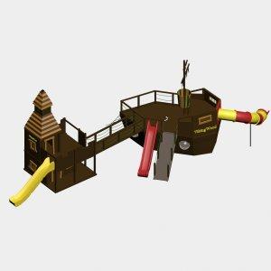 Детский игровой комплекс VikingWood Пиратский Причал