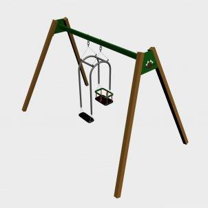 Детский игровой комплекс VikingWood ДК-009