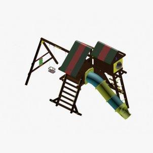 Детский игровой комплекс VikingWood Титан