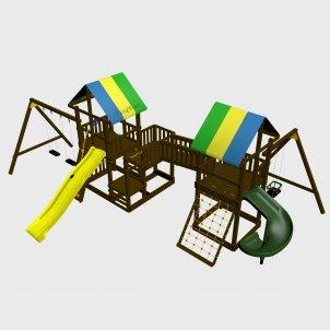 Детский игровой комплекс VikingWood Вулкан